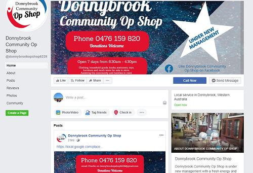 donnybrookopshop social profile