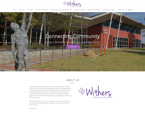 Withers website project