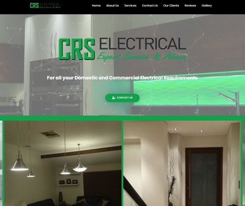 CRS Electrical website project